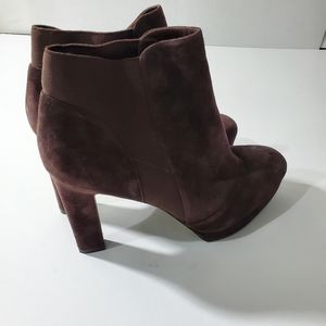 VIA SPIGA SUEDE ANKLE BOOTS.SIZE 10.5